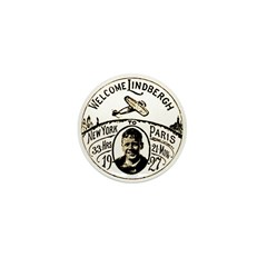 Welcome Lindbergh Mini Button (100 pack)