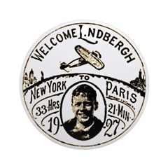Welcome Lindbergh Ornament (Round)