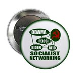 """Socialist Networking 2.25"""" Button (10 pack)"""