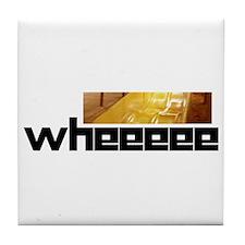 Atonal Whee Tile Coaster