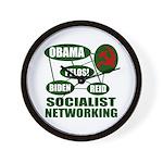 Socialist Networking Wall Clock