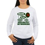 Socialist Networking Women's Long Sleeve T-Shirt