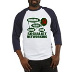Socialist Networking Baseball Jersey