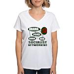 Socialist Networking Women's V-Neck T-Shirt