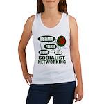 Socialist Networking Women's Tank Top