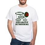 Socialist Networking White T-Shirt