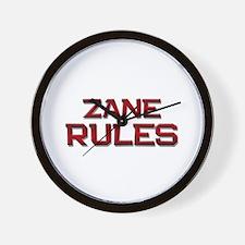 zane rules Wall Clock