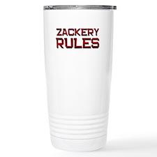 zackery rules Travel Mug