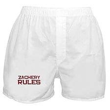 zachery rules Boxer Shorts