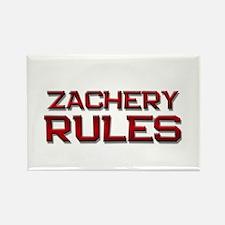 zachery rules Rectangle Magnet