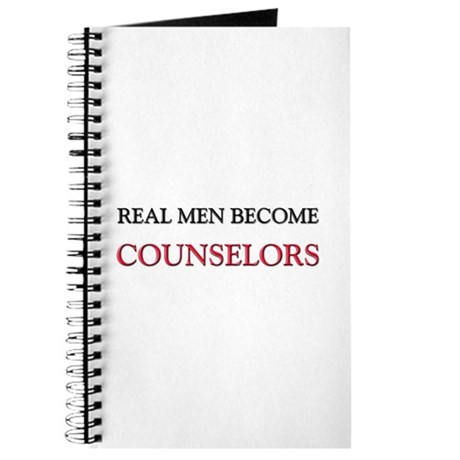 Real Men Become Counselors Journal