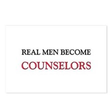 Real Men Become Counselors Postcards (Package of 8