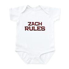 zach rules Infant Bodysuit
