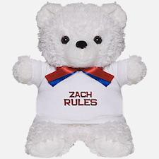 zach rules Teddy Bear