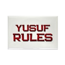 yusuf rules Rectangle Magnet (10 pack)