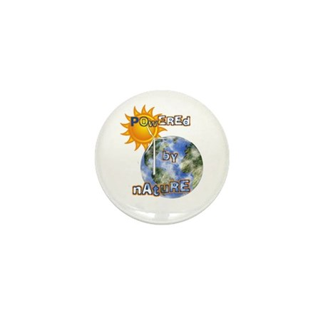 Powered By Nature Mini Button (100 pack)