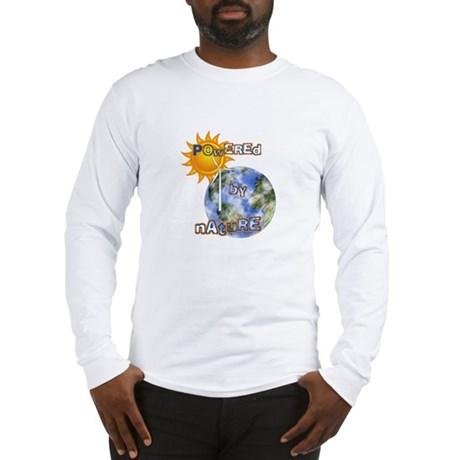 Powered By Nature Long Sleeve T-Shirt