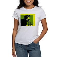 Big Dogs Rule! (Yellow Design) Tee