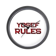 yosef rules Wall Clock