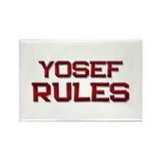 yosef rules Rectangle Magnet