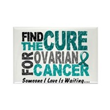 Find The Cure 1 OVARIAN CANCER Rectangle Magnet