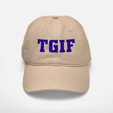 TGIF Baseball Baseball Cap