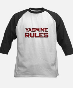 yasmine rules Kids Baseball Jersey