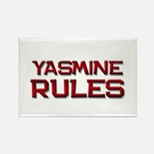 yasmine rules Rectangle Magnet