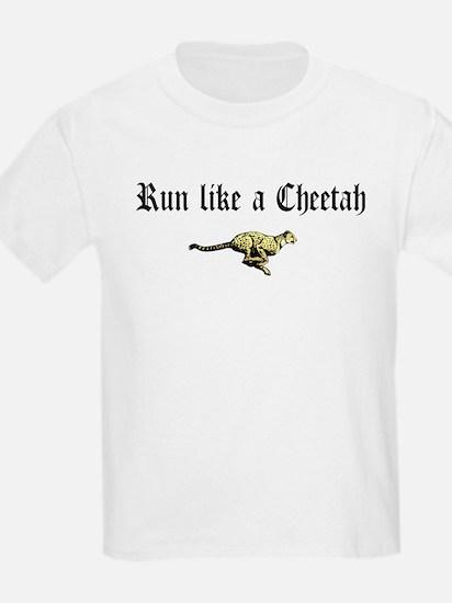 Running Cheetah T-Shirt