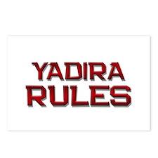 yadira rules Postcards (Package of 8)
