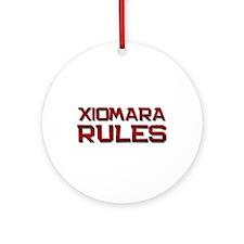 xiomara rules Ornament (Round)