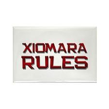 xiomara rules Rectangle Magnet