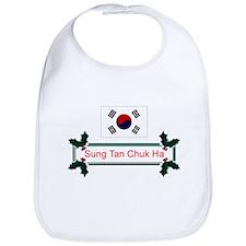 Korea Sung Tan... Bib