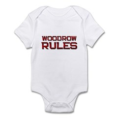 woodrow rules Infant Bodysuit