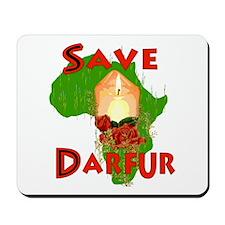 Save Darfur Mousepad