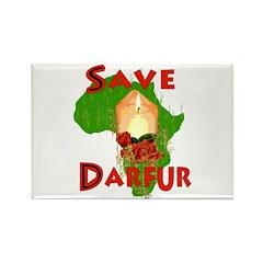 Save Darfur Rectangle Magnet (100 pack)
