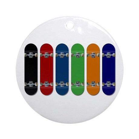Skateboards Ornament (Round)