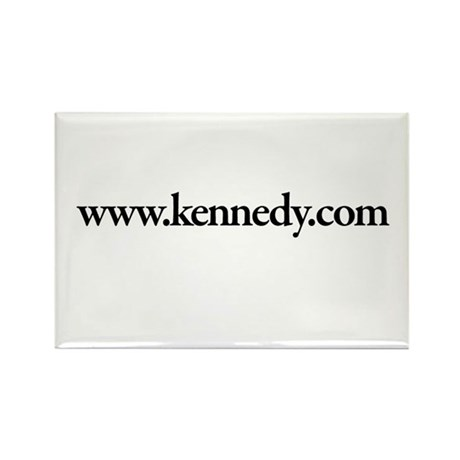 www.Kennedy.com Rectangle Magnet