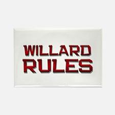 willard rules Rectangle Magnet