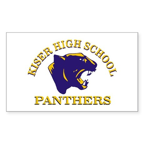 Panther Rectangle Sticker