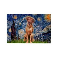 Starry / R Ridgeback Rectangle Magnet