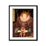 Queen / R Ridgeback Framed Panel Print