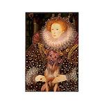 Queen / R Ridgeback Rectangle Magnet (100 pack)