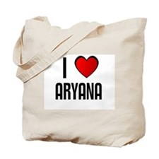 I LOVE ARYANA Tote Bag