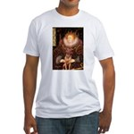 Queen / R Ridgeback Fitted T-Shirt