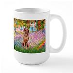 Garden / R Ridgeback Large Mug