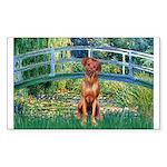 Garden / R Ridgeback Sticker (Rectangle 50 pk)