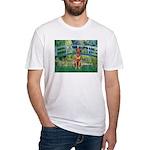 Garden / R Ridgeback Fitted T-Shirt