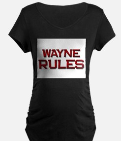 wayne rules T-Shirt