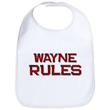 wayne rules Bib